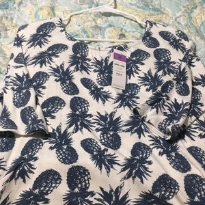 Agnes & Dora Tops - Women's pineapple tunic